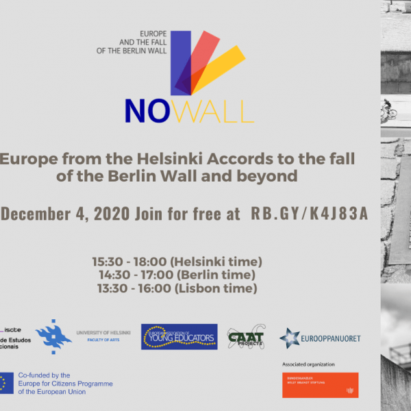 Europe from the Helsinki Accords to the fall of the Berlin Wall and beyond